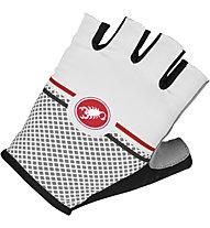 Castelli Velocissimo Giro Glove, White/Grey
