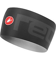 Castelli Viva 2 Thermo - Stirnband, Black/Grey