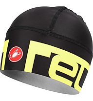 Castelli Viva 2 Thermo Skully - Radmütze, Black/Yellow
