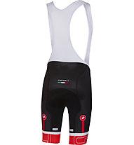 Castelli Volo Bibshort - pantaloni bici - uomo, Black/Red