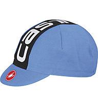 Castelli Cappellino bici Volo, Drive Blue