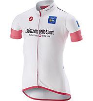 Castelli Maglia Bianca Giro d'Italia 2018 - bambino, White