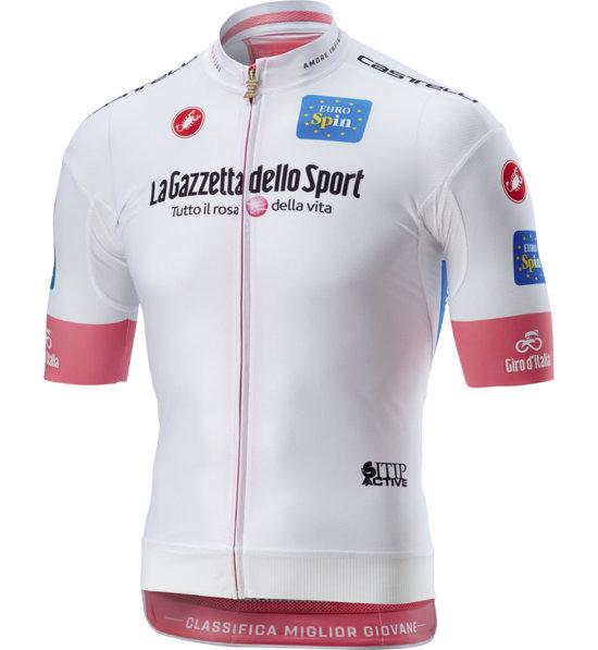 Castelli Maglia Bianca Giro d Italia 2018 - uomo  7d483187e