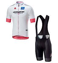 Castelli Set bici uomo Giro d'Italia 2018 - maglia Bianca + pantaloni ciclismo