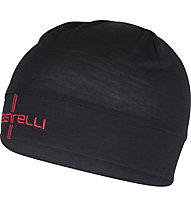 Castelli Wool Beanie - berretto bici, Black