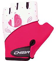 Chiba Cool Birdie - guanti bici - bambino, Pink/White