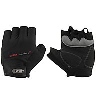 Chiba Gel Comfort Plus - guanti da bici - uomo, Black