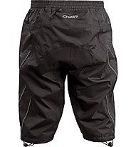 Chiba Regenhose Kurz - pantaloni corti antipioggia - uomo, Black