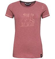 Chillaz Gandia Alpaca Gang - Kletter T-Shirt - Damen, Dark Pink