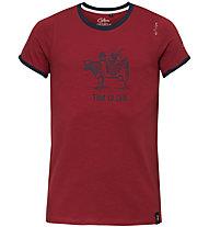 Chillaz Retro Cow  - maglietta arrampicata - uomo , Red