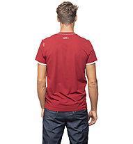 Chillaz Retro Worry Less - maglietta arrampicata - uomo , Red