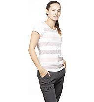 Chillaz Ötztal Stripes - Klettershirt - Damen , White/Light Pink
