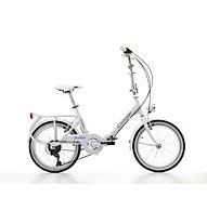 Cicli Cinzia Sixtie's Aluminium 20 - Faltrad, White