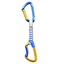 Climbing Technology Lime Nylon 12cm Sportler 6-Pack - Expressset, Blue/Orange