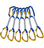 Climbing Technology Berry DY 6 Pack - set rinvii, Blue/yellow / 12 cm