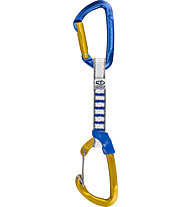 Climbing Technology Berry NY - Express-Set, Blue/Yellow / 12 cm