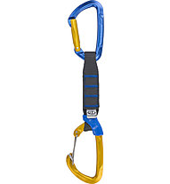 Climbing Technology Berry PRO - rinvio, Blue/Yellow / 12 cm