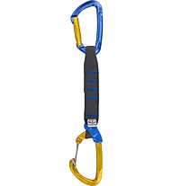 Climbing Technology Berry PRO - rinvio, Blue/Yellow / 17 cm
