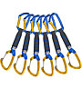 Climbing Technology Berry PRO 6 Pack - set di rinvii, Blue/Yellow / 12 cm