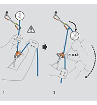 Climbing Technology Click up plus c/moschettone