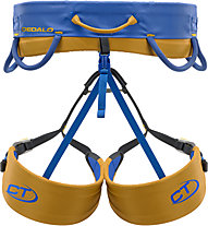Climbing Technology Dedalo - imbragatura per arrampicata, Blue/Orange