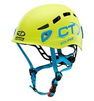 Climbing Technology Eclipse - casco, Green/Blue