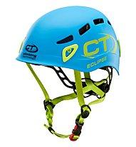 Climbing Technology Eclipse - casco, Light Blue/Green