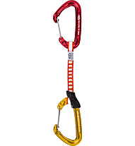 Climbing Technology Fly-Weight EVO DY - rinvio, Red/Gold / 12 cm