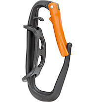 Climbing Technology Hammer Lodge - Materialkarabiner, Black/Orange