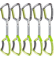 Climbing Technology Lime Set DY - set di rinvii, Green/Grey