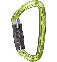 Climbing Technology Lime WG - moschettone, Green/Grey