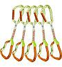 Climbing Technology Nimble EVO Set DY - set di rinvii, Green/Orange