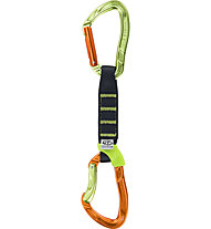 Climbing Technology NIMBLE EVO SET 12 CM - Express-Set, Green/Orange/Black