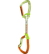 Climbing Technology Nimble FB DY - rinvio, Green/Orange / 12 cm