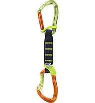 Climbing Technology Nimble Fixbar Set NY PRO - rinvio, Green/Orange/Black