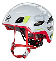 Climbing Technology Orion - casco, Light Grey/Fucsia