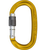 Climbing Technology Pillar Pro SG - Karabiner, Gold