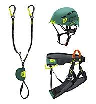 Climbing Technology VF Kit Premium E-Compact - kit via ferrata, Multicolor