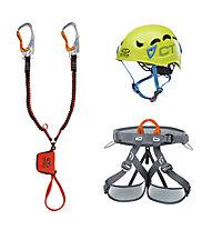 Climbing Technology VF Kit Premium G-Compact - kit via ferrata, Multicolor