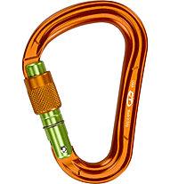 Climbing Technology Warlock - Karabiner, Orange/Green