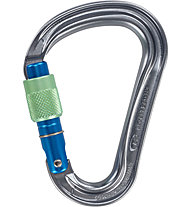 Climbing Technology Warlock - Karabiner, Grey/Blue/Green