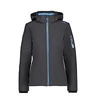 CMP Zip Hood Jacket - Wanderjacke mit Kapuze - Damen, Grey/Blue