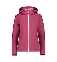 CMP Zip Hood Jacket - Wanderjacke mit Kapuze - Damen, Pink