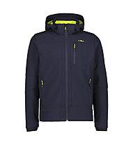CMP Zip Hood Jacket - Wanderjacke mit Kapuze - Herren, Dark Blue
