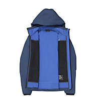 CMP Zip Hood Jacket - Wanderjacke mit Kapuze - Herren, Blue