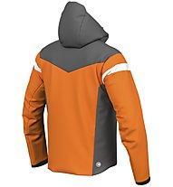 Colmar Golden Eagle - Skijacke - Herren, Orange/Grey