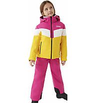 Colmar Sapporo - completo da sci - bambina, Pink/Yellow