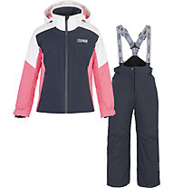 Colmar Sapporo C Girl - Komplet Ski - Kinder, Blue/Pink