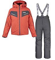 Colmar Sapporo C Set - Komplet Ski - Kinder, Red/Black