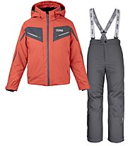 Colmar Sapporo S Set - Komplet Ski - Jungen, Red/Dark Grey